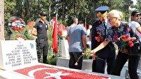 Şehide Türk bayraklı 'doğum günü hediyesi'