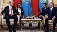 Erdoğan ve Nazarbayev'den ortak açıklama
