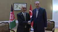 Cumhurbaşkanı Erdoğan Eşref Gani ile bir araya geldi