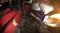 Bursa'da trafik kazası: 1'i ağır 4 yaralı! Son dakika Bursa haberi