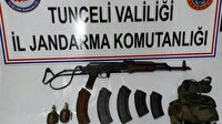 Tunceli'de terör örgütüne ait 7 sığınak ve yaşam malzemesi ele geçirildi