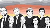 Almanya'da Merkel kazandı ama büyük kayıp verdi