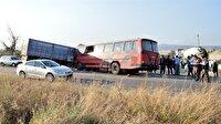 Eskişehir'de feci trafik kazası haberi: 13 yaralı