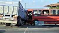 Eskişehir'de cenaze dönüşü trafik kazası: 3'ü ağır 13 yaralı