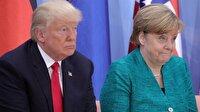 Trump'tan Merkel'e tebrik
