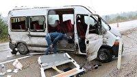 Karabük haber: Karabük'te trafik kazası: 16 yaralı