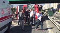 İstanbul'da iki katlı otobüs devrildi