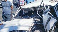 Erdemli'de trafik kazaları: 1'i ağır 2 yaralı