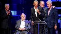 ABD'nin 5 eski başkanı bir arada