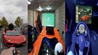 Lamborghini'yi oyun simülasyonuna çevirdi!