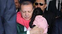 Cumhurbaşkanı Erdoğan'a sarılışının altından dram çıktı