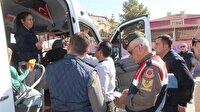 Okul servisleri tek tek denetlendi-Antalya haber