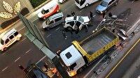 Edirnekapı'da zincirleme kaza haberi: 1'i ağır 5 yaralı