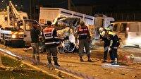 Ters şeritte dehşet saçtı: 2 ölü 4 yaralı