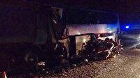 Rusya'da minibüs ve otobüs çarpıştı: 15 ölü
