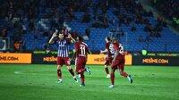 Trabzonspor-Osmanlıspor maç özeti! Nefes kesen maç!