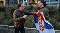 """""""Bosna Kasabı""""nın karar duruşması öncesi arbede"""