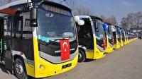 İnegöl'e 110 yeni halk otobüsü