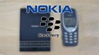 BlackBerry ile Nokia'ya patent yüzünden karşı karşıya