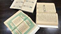 Filistin'de Abdulhamid döneminde basılan Kur'an-ı Kerimler bulundu