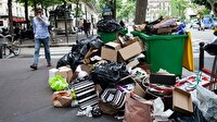 Paris'te sokaklar çöpten geçilmiyor