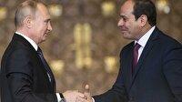 Putin ve Sisi nükleer santral anlaşmasını imzaladı
