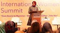 'Savaşlarda en fazla kadınlar mağdur oluyor'