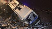 Son dakika... Konya'da otobüs kaza yaptı: 32 yaralı