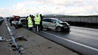 Son dakika... Bursa'da trafik kazası: 2 ölü, 8 yaralı (Bursa Haberleri)