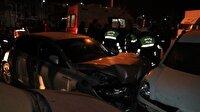 Çankırı'da trafik kazası: 4 yaralı