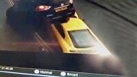 Audi R8'in inanılmaz kazası kamerada