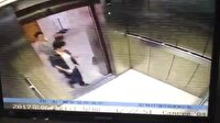 Dehşete düşüren asansör kazası kamerada!