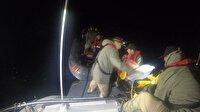 Kaçak göçmenleri sahil güvenlik ekipleri kurtardı
