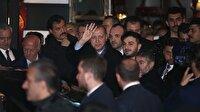 Erdoğan, söz verdiği restoranda yemek yedi