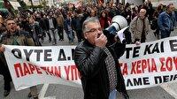 Yunanistan'da grev: Toplu ulaşım tamamen durdu!