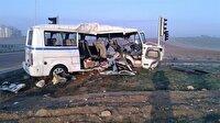 Servis aracı minibüsle çarpıştı: 3 ölü