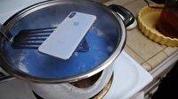 iPhone X'i pişirdiler!