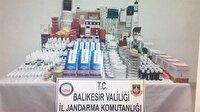Balıkesir'de kaçak 23 bin 280 parça diş protez ele geçirildi