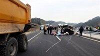 Kahramanmaraş'ta trafik kazası: 8 ölü, 8 yaralı