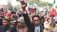 İtalya ırkçılığa karşı yürüdü