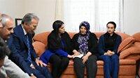 Bakan Sarıeroğlu, şehit ailesini ziyaret etti