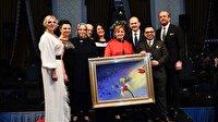 Bakan Soylu'nun yaptığı tablo 500 bin liraya satıldı