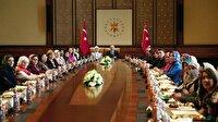 """Cumhurbaşkanı Erdoğan, """"Vicdan Konvoyu"""" temsilcilerini kabul etti"""