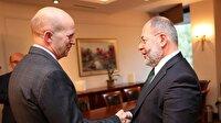 Başbakan Yardımcısı Akdağ İngiltere Büyükelçisini kabul etti