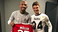 Bayern Münihli yıldız Beşiktaş formasını giydi