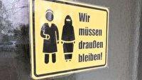 İsviçre'de tepki çeken tabela: Müslümanlar giremez