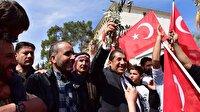 Suriyeli sığınmacılardan 'Afrin' kutlaması