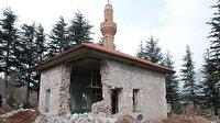 Osmanlı'nın kuruluş hutbesinin okunduğu caminin duvarı çöktü