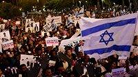 İsrailliler hükümeti protesto etti