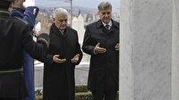 Başbakan Yıldırım'dan İzzetbegoviç'in kabrine ziyaret